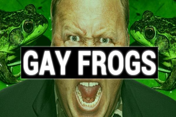 Gay Frog Pride Parade