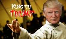 kung fu trump by philip loyd