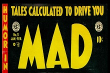 MAD Magazine - Issue 3 Cover -