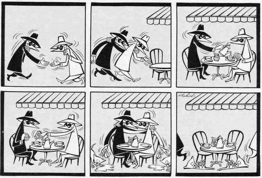 MAD Magazine Spy vs Spy
