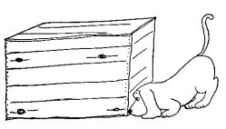 a box to hide in - james thurber